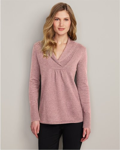 Shawl Collar Sweatshirt Sweater