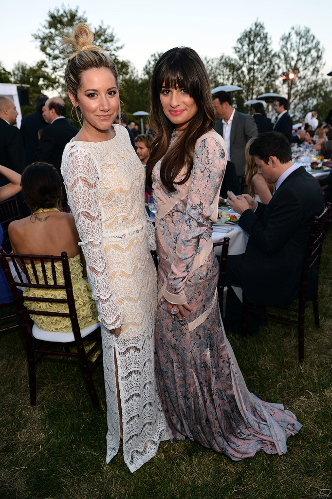 She and Ashley Tisdale were dressed to the nines for the Chrysalis Butterfly Ball in LA in June 2012.