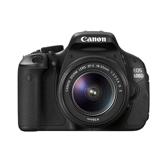 Canon 600DTKIS DSLR Twin Lens Kit, $899