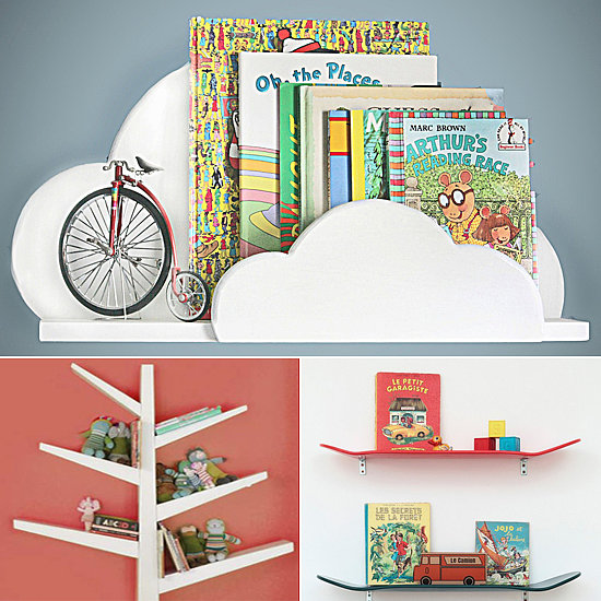 Bookshelves for kid rooms popsugar moms for Bookcases for kids room
