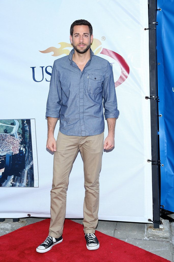 Zachary Levi attended the Opening Night Gala.