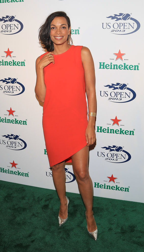 Rosario Dawson attended a US Open kickoff party.