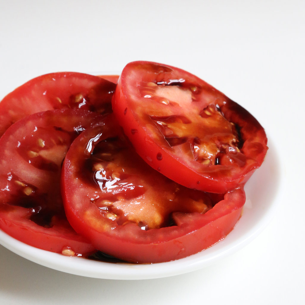 Tomatoes, Balsamic Glaze, Olive Oil