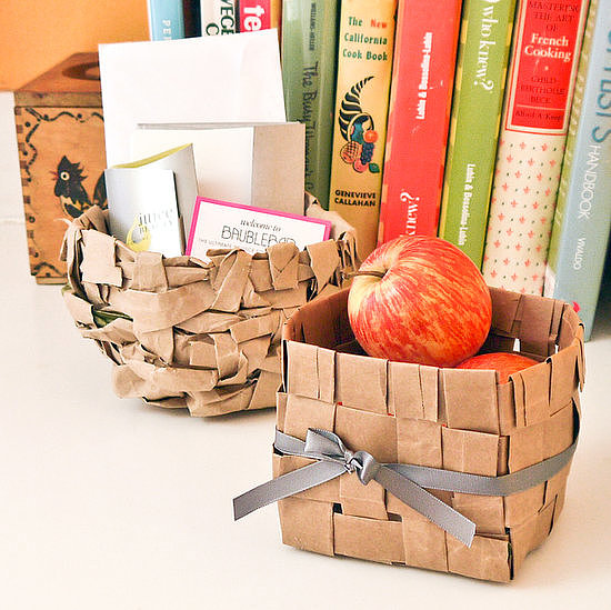 Paper-Bag Baskets