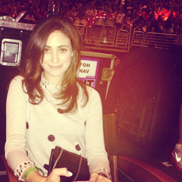 Emmy Rossum shared a snap from Taylor Swift's LA concert. Source: Instagram user emmyrossum