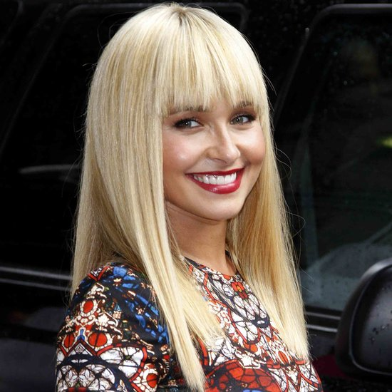 Hayden Panettiere Debuts a Banging New Hairstyle