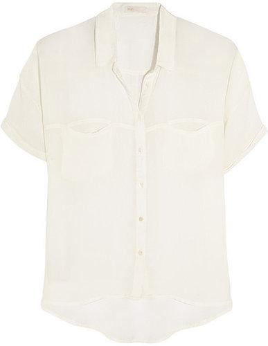 Maje Christel gauze shirt