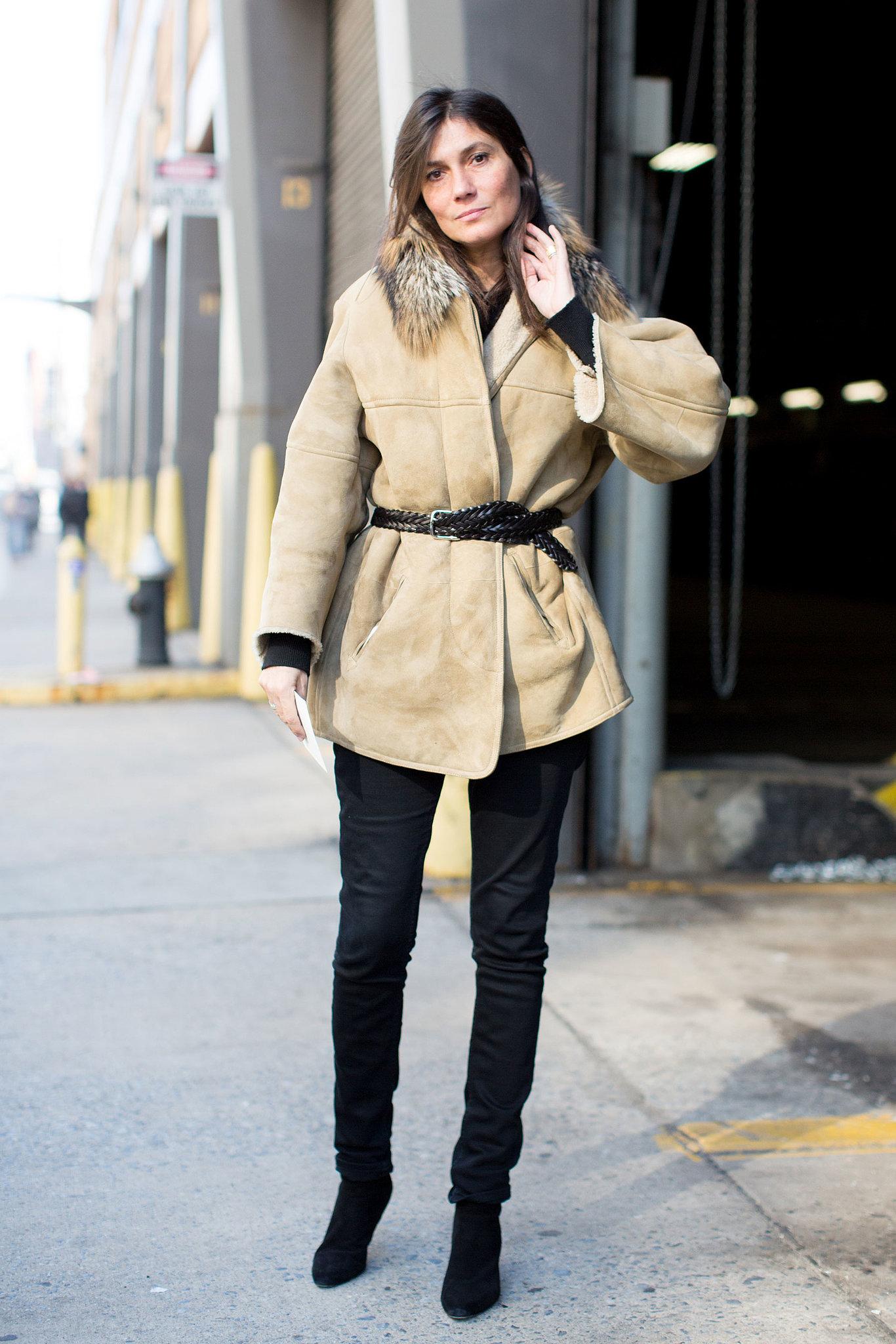 Emmanuelle Alt Style Du Monde: Emmanuelle Alt Didn't Complicate Her Winter Look