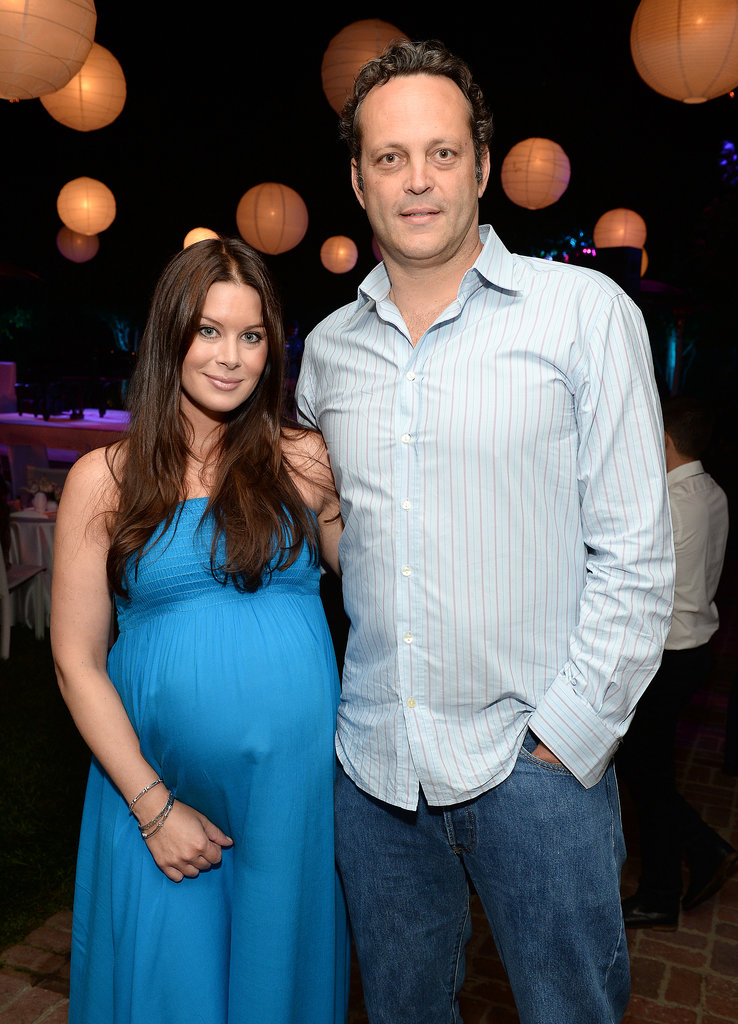 Jay Ryan And Wife Vince Vaughn and wife Kyla