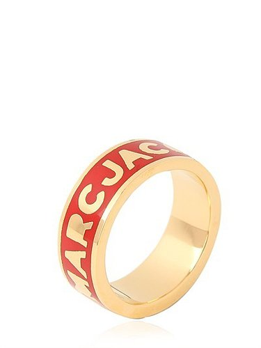 "Marc By Marc Jacobs - ""Dreamy Logo"" Ring Aus Messing"