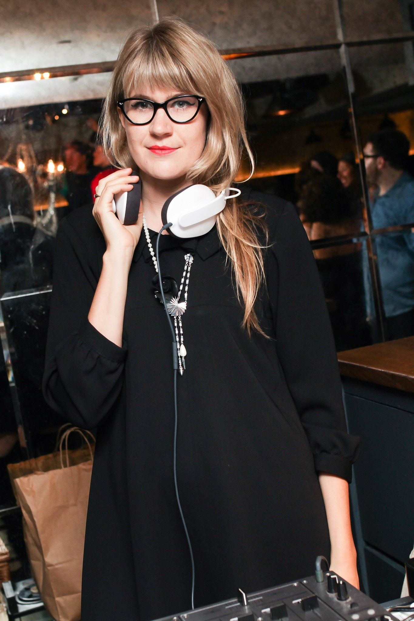 Tennessee Thomas kept the room on its feet at the Erickson Beamon Soho House bash in NYC.