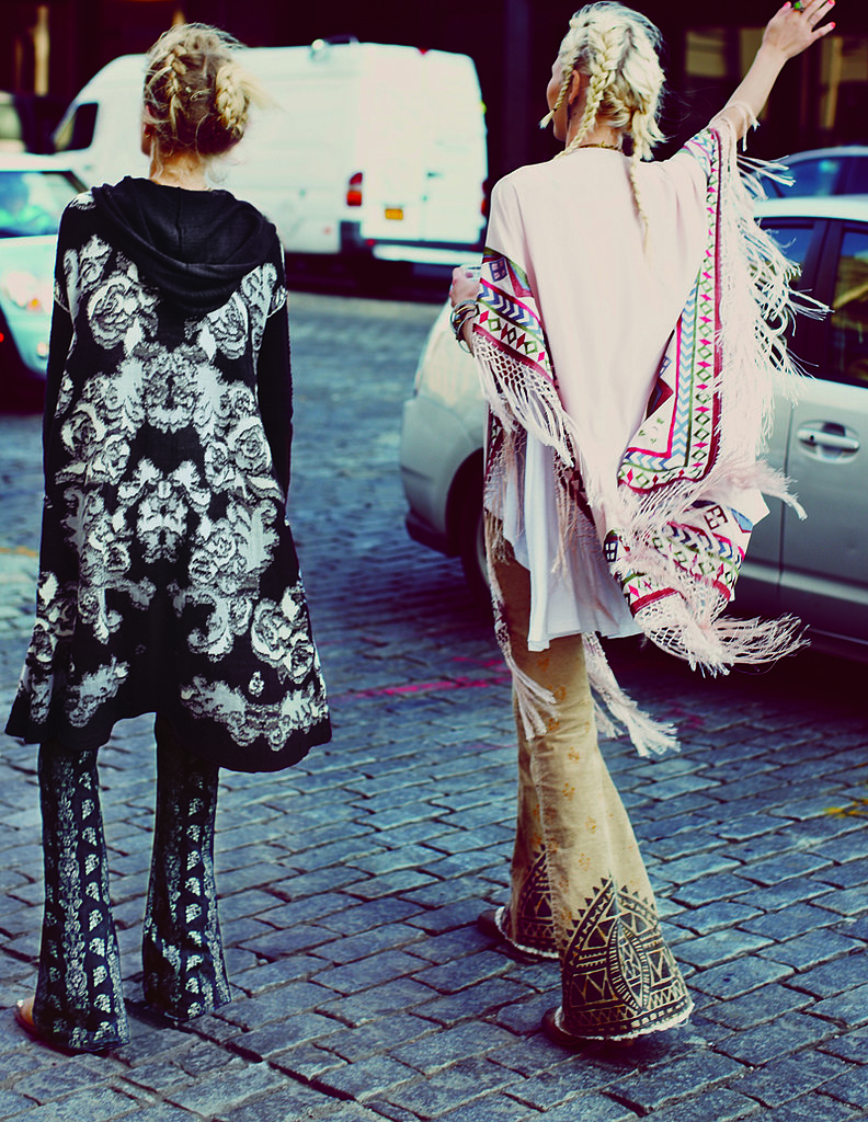 Models photographed by Anna Palma. Photo courtesy of Free People