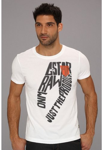 G-Star - Mayfield S/S Tee (White) - Apparel