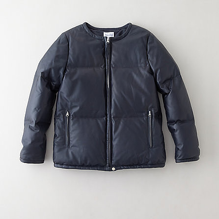 STEVEN ALAN nanette leather down jacket