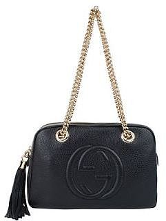 Gucci GUCCI Soho Leather GG Shoulder Bag
