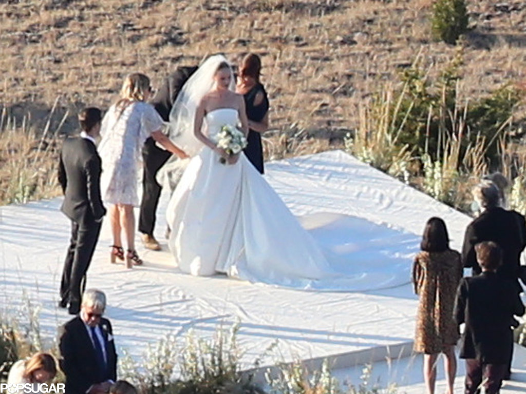Kate Bosworth married Michael Polish surrounded by their friends and family in Montana.