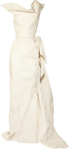 Roland Mouret Breton matelasse gown