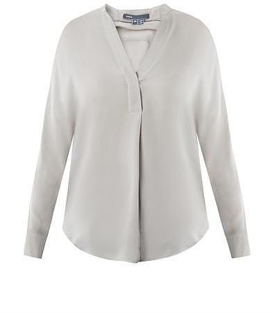 Vince Long sleeve silk blouse