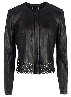 DIANE VON FURSTENBERG Leather outerwear