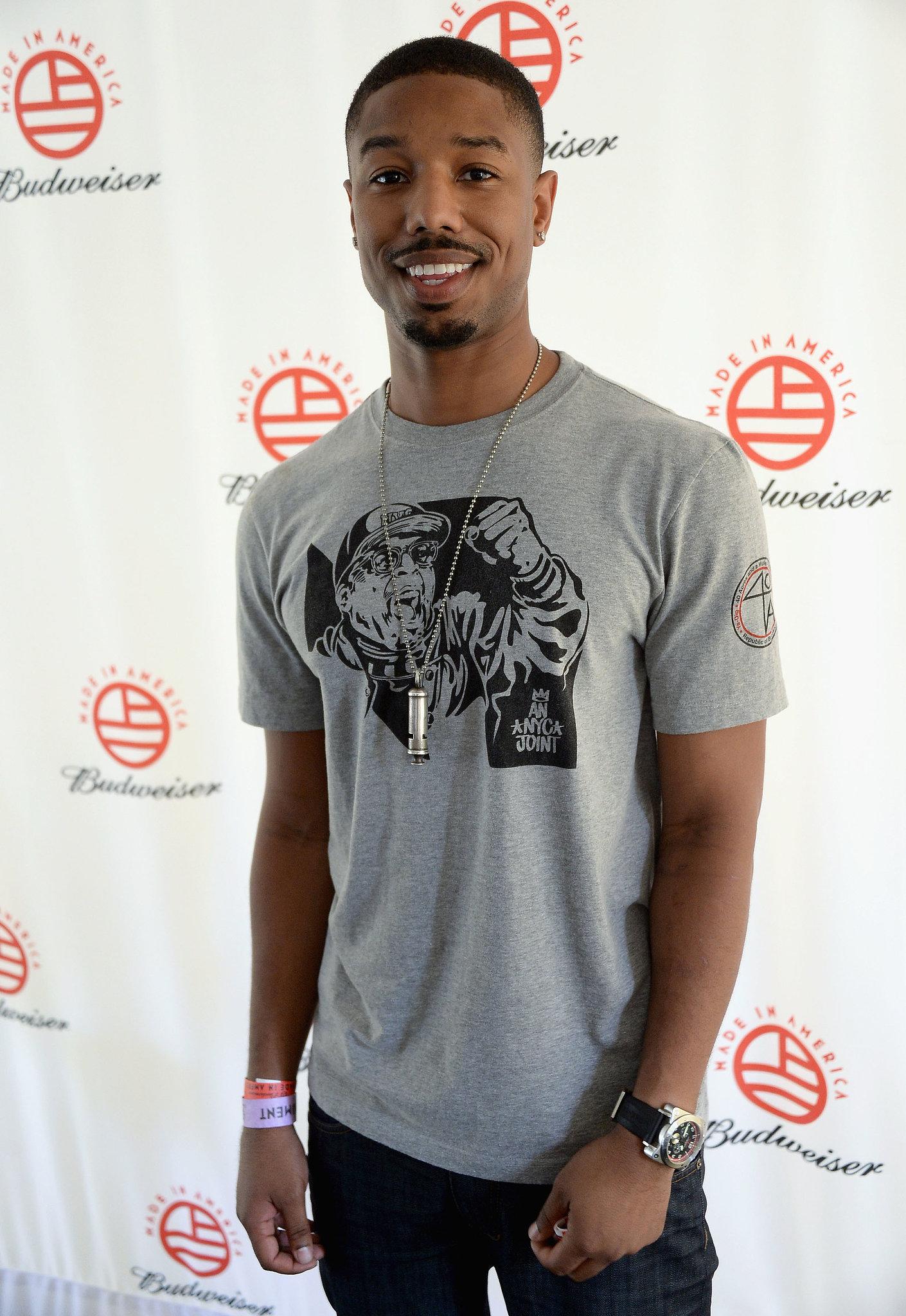 Michael B. Jordan attended the festival.