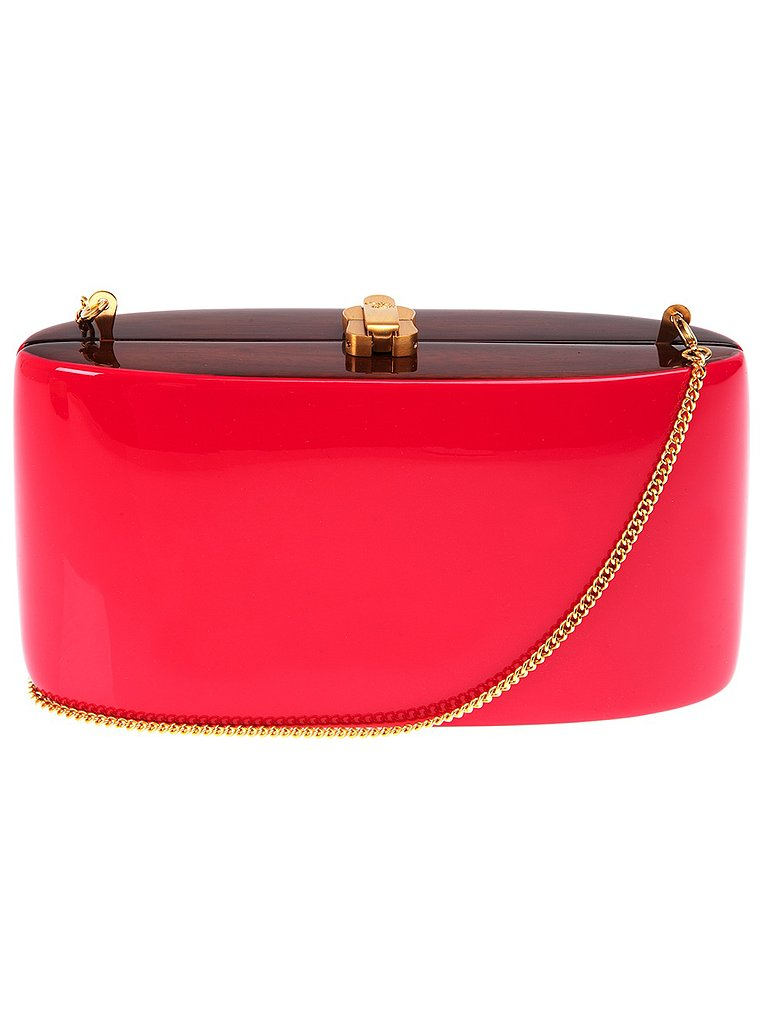 Clutch, approx $389, Roscio at Farfetch.com.