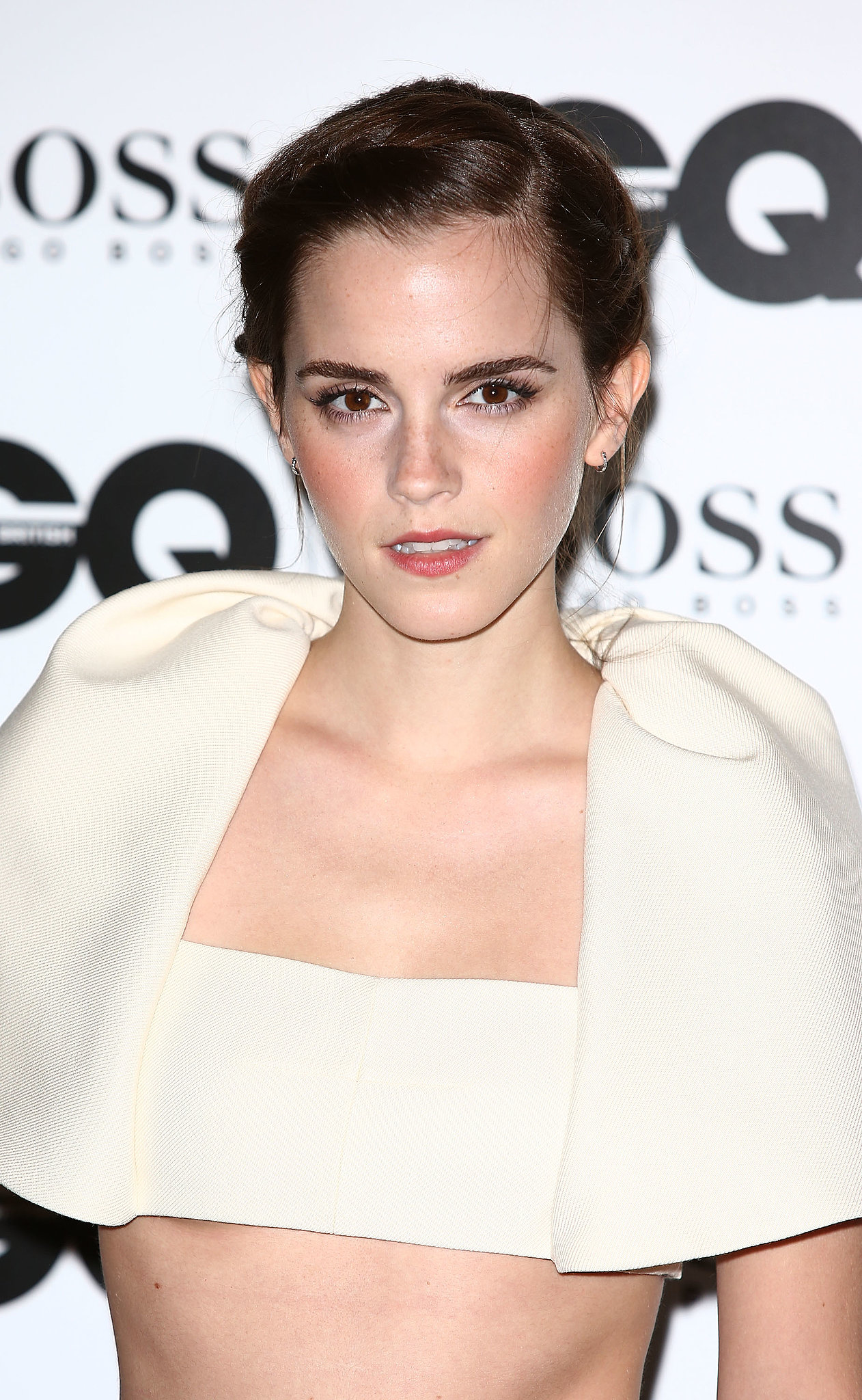 Emma Watson Brings the '90s Back With a High-Fashion Crop Top