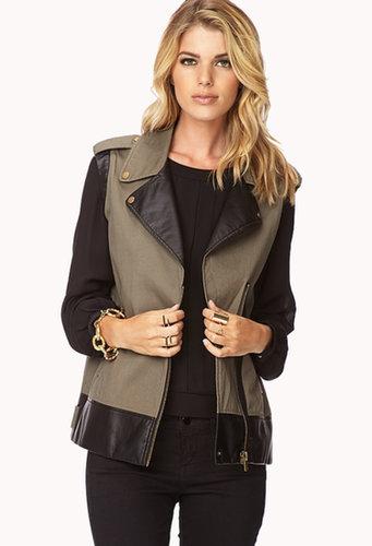 FOREVER 21 Street-Chic Moto Vest