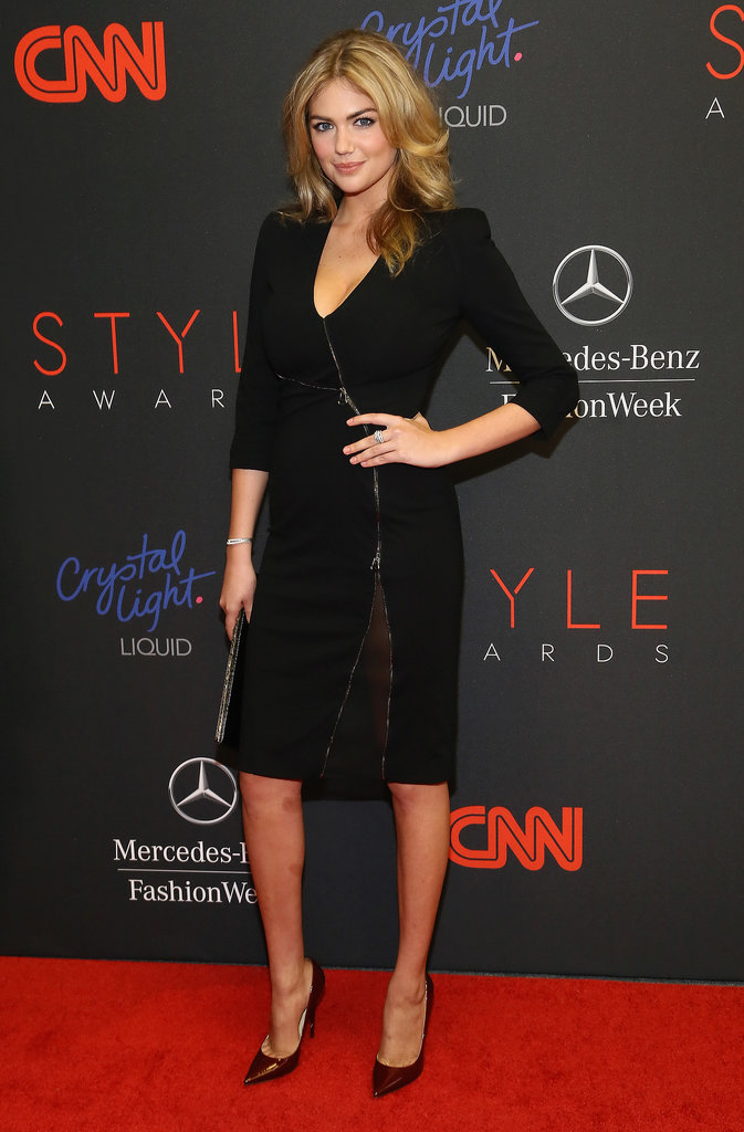 Kate Upton attended the Style Awards.