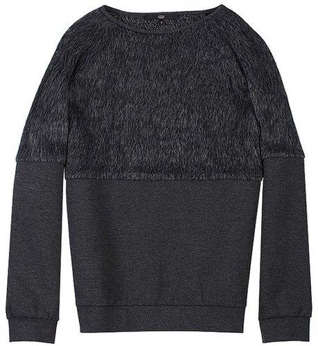 Fur Sweatshirt