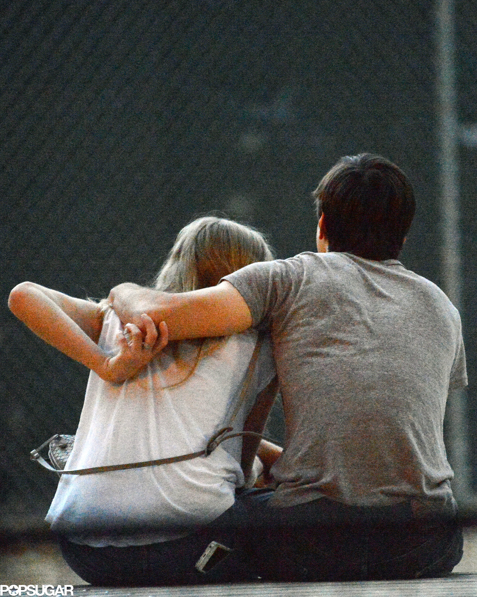 Amanda Seyfried and Justin Long couldn't keep their hands off each other in NYC.