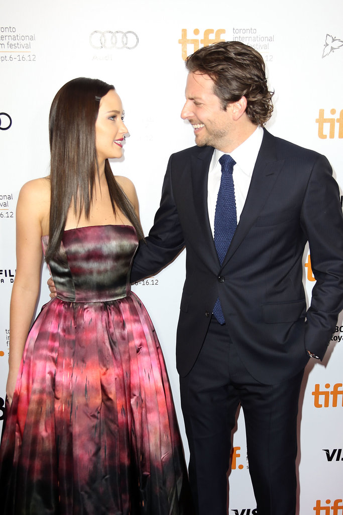 Jennifer Lawrence had Bradley Cooper cracking up on the red carpet of their Silver Linings Playbook premiere in 2012.