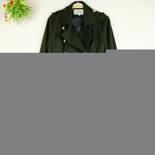 Wool Busby Military Coat (On Sale)