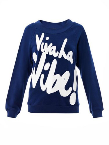 House Of Holland Viva la vibe sweatshirt