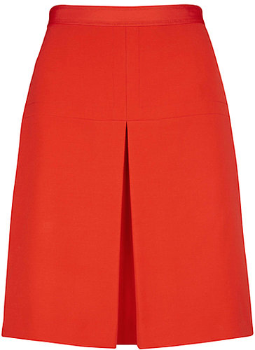Hobbs Ella Skirt, Fire Red