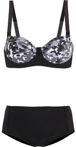 Beth Richards Brigitte camouflage-print underwired bikini