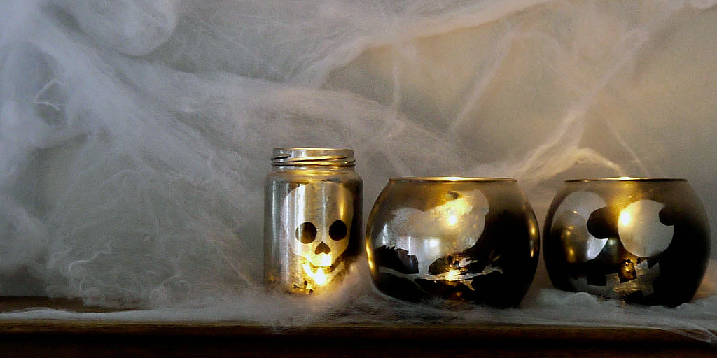 This Halloween Votive DIY Is So Easy, It's Scary!