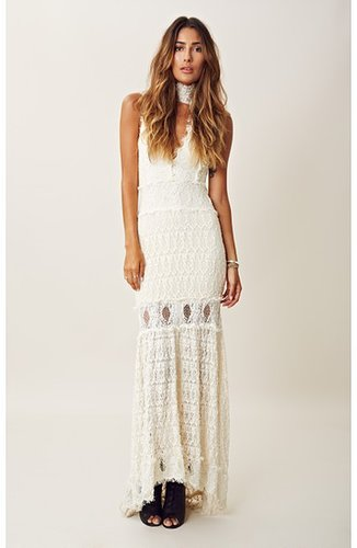 nightcap FLORENCE LACE BRIDAL DRESS