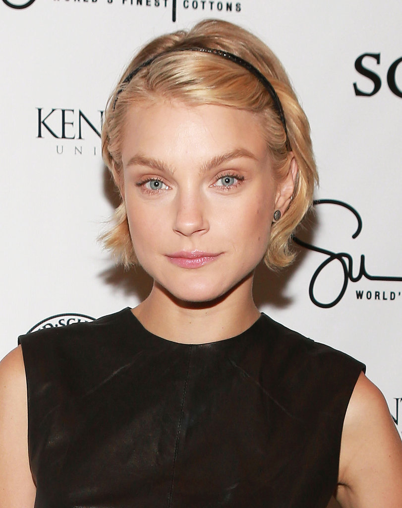Jessica Stam at Supima Spring 2014.