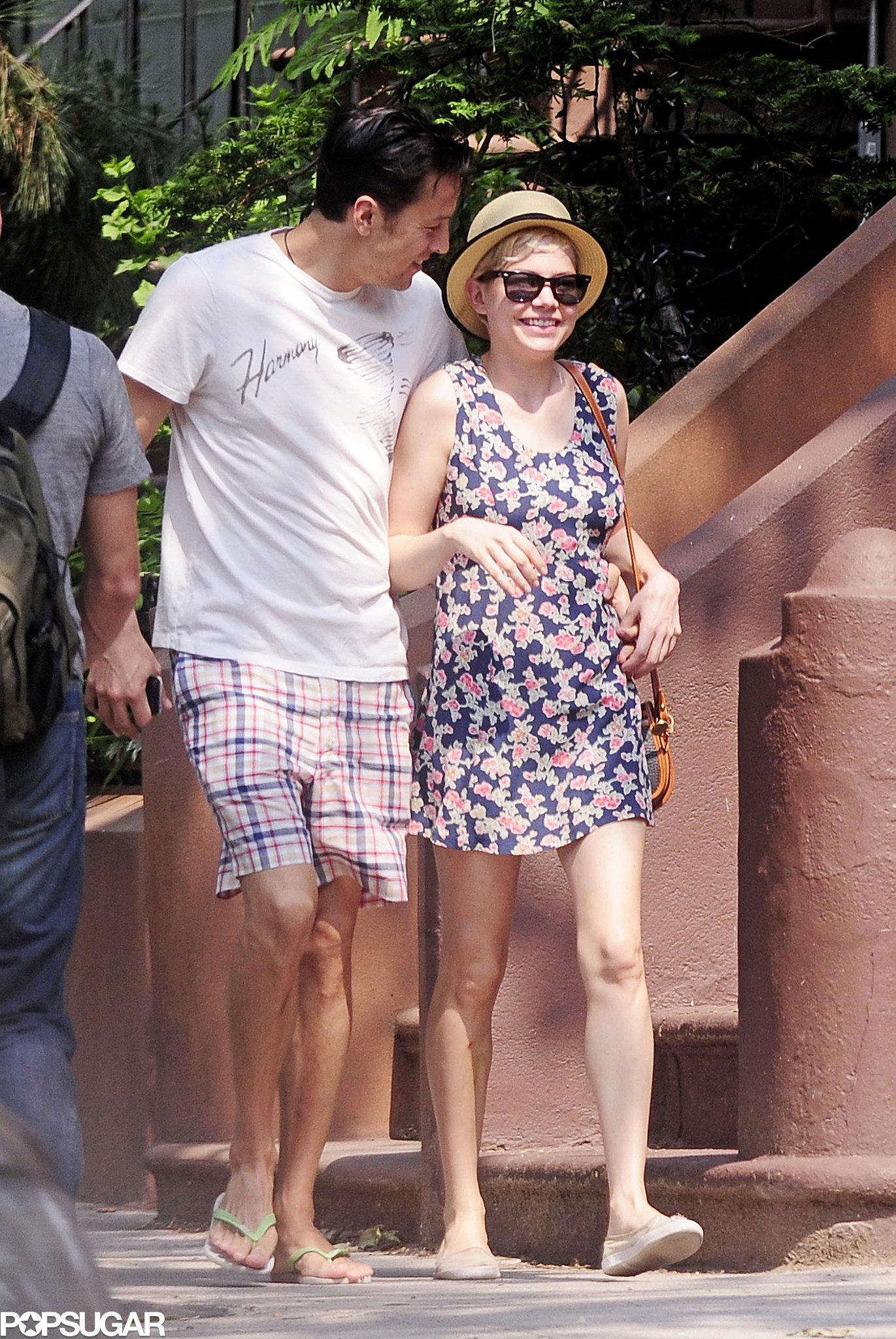 Michelle Williams couldn't hide her happiness with director boyfriend Cary Fukunaga in June, 2011!
