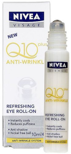 Nivea Visage Nivea Daily Essentials Q10 Plus Anti-Wrinkle Refreshing Eye Roll-On 10ml