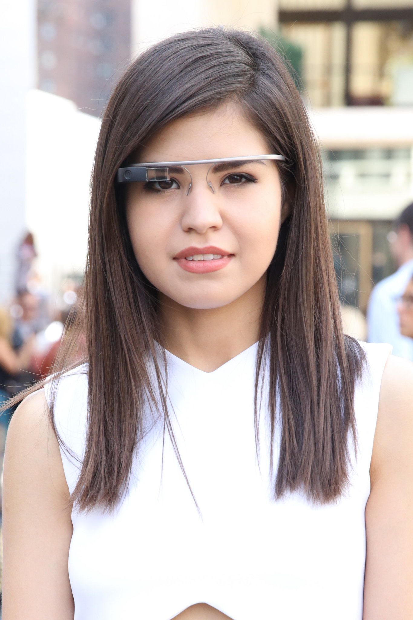 Google Glass, the coolest kind of glasses.