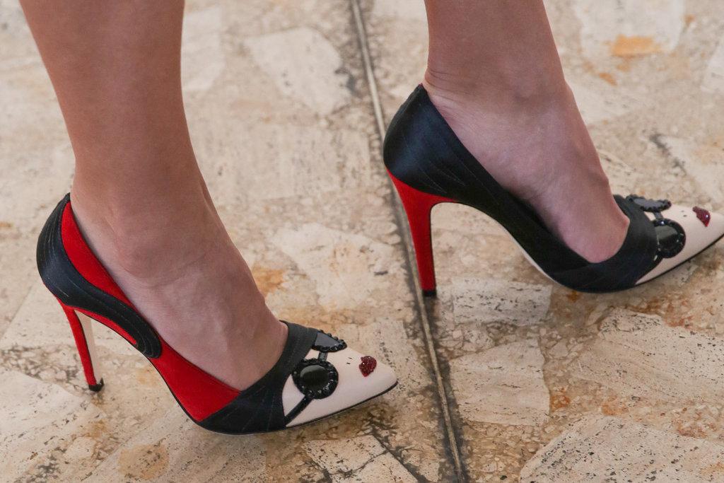 Cheeky Alice + Olivia heels.