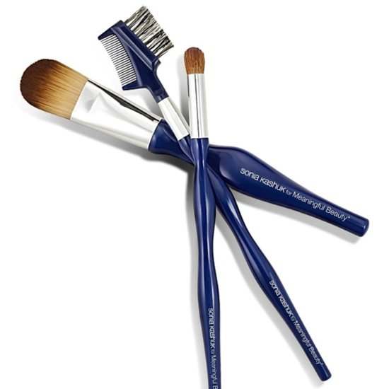 Cindy Crawford and Sonia Kashuk Brushes
