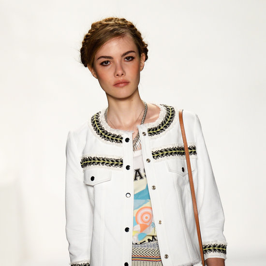 Rebecca Minkoff Goes Punk With Braids, Brows, and Skull Nails