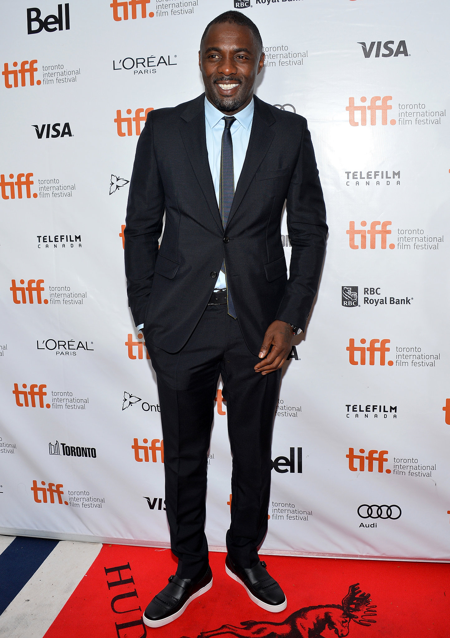 Idris Elba looked mighty dapper at the premiere of Mandela: Long Walk to Freedom.