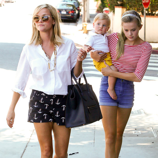 Reese Witherspoon With Ava Phillippe, Tennessee Toth in LA