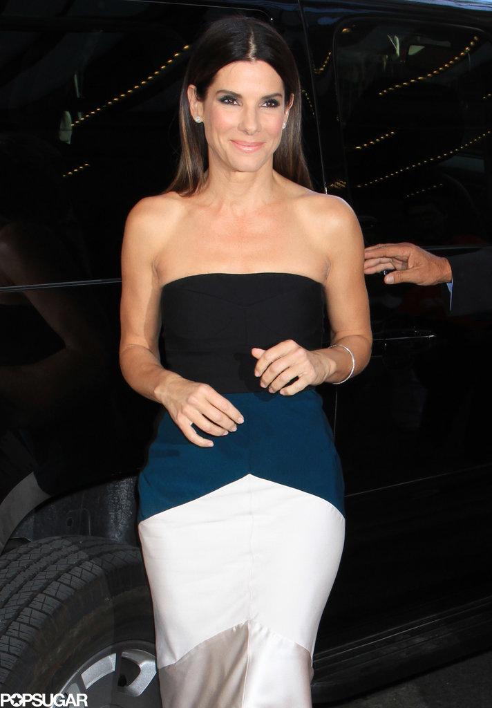 Who Needs Clooney? Sandra Bullock Does Solo Promo at TIFF