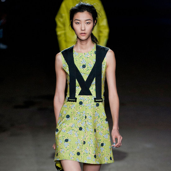 2014 Spring New York Fashion Week Runway Opening Ceremony