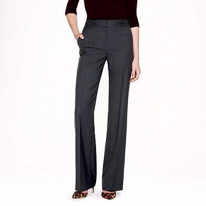 Tall Hutton trouser in pinstripe Super 120s