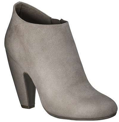 Women's Mossimo® Vonnie Shootie Ankle Boot - Soft Taupe